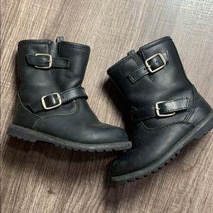Kids Ugg black boots